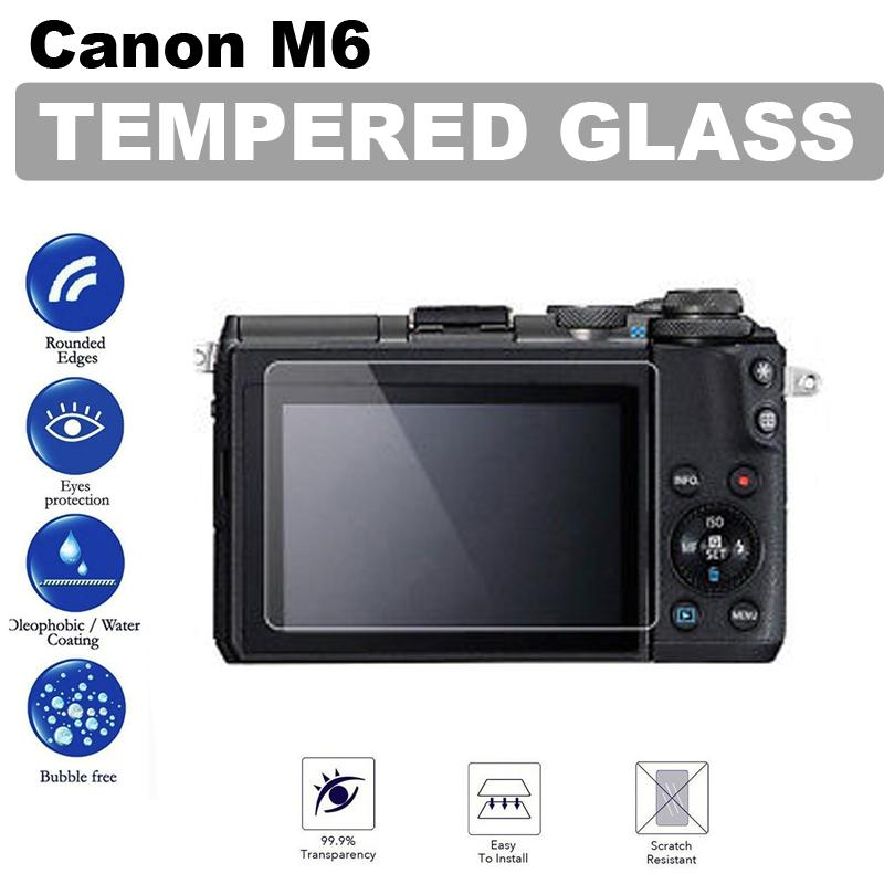 Canon Eos M6 Tempered Glass Screen Protector By Icm Photography.