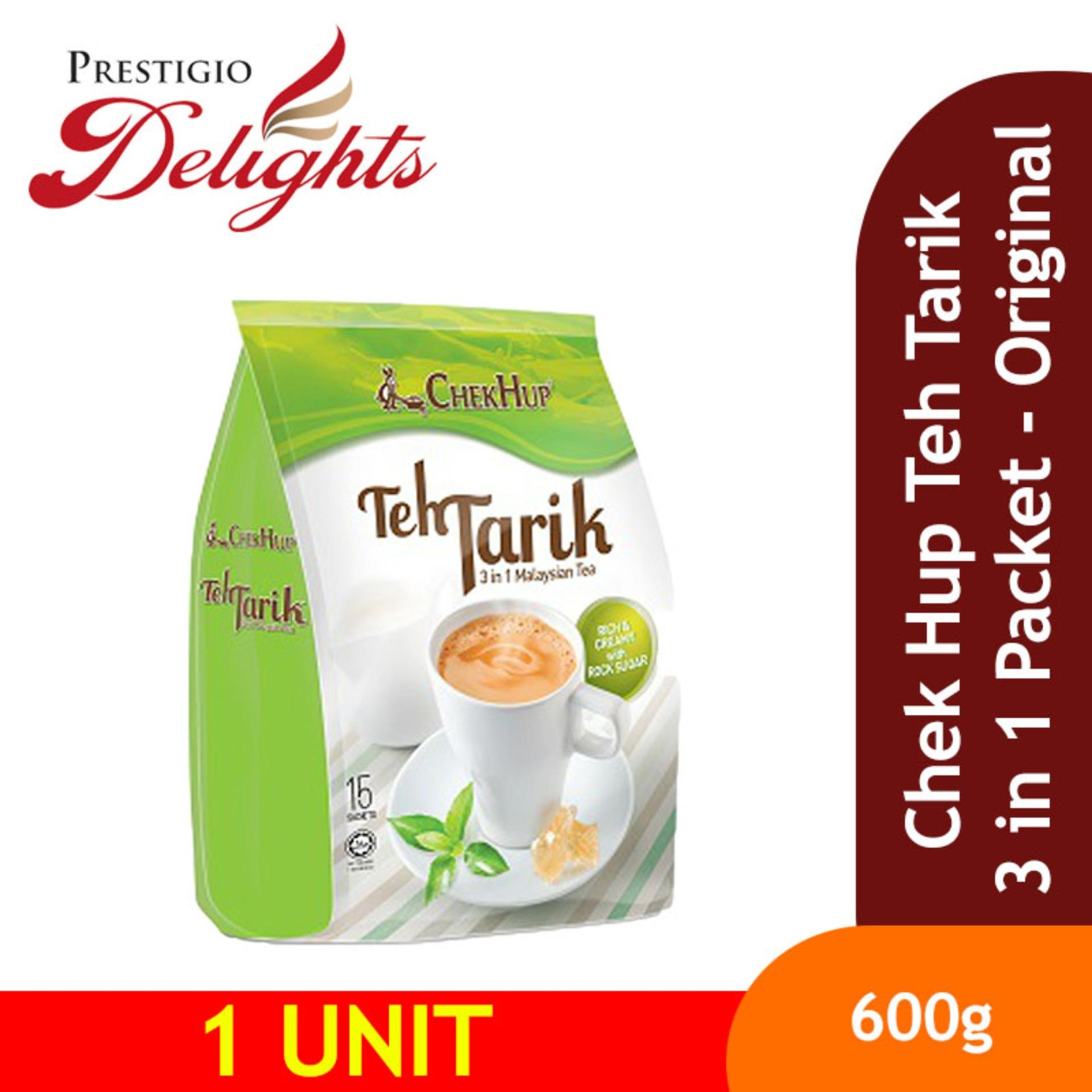 Chek Hup Teh Tarik 3 In 1 Packet - Original By Prestigio Delights.