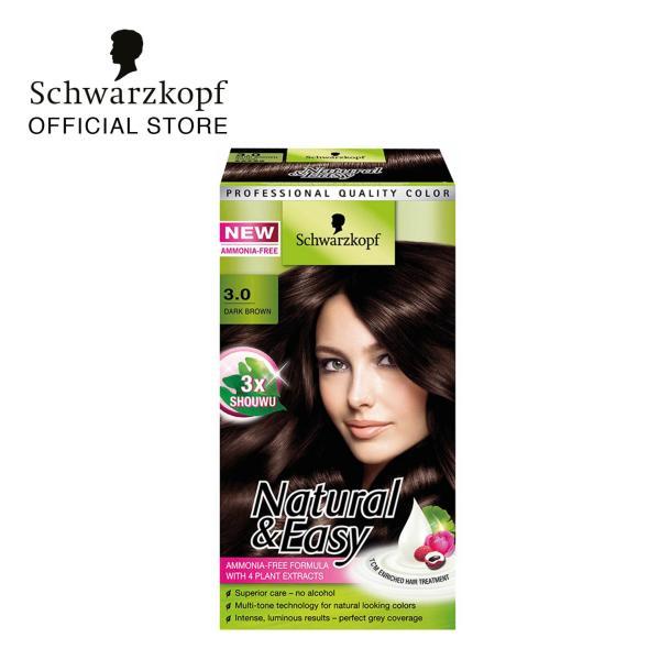 Buy Schwarzkopf Natural & Easy 3.0 Dark Brown Singapore