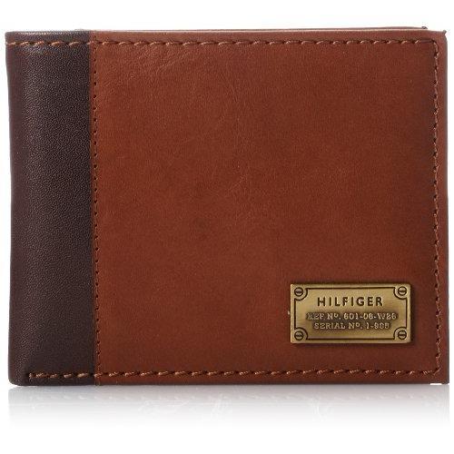 Price Tommy Hilfiger Men S Leather Wallet Melton Passcase Bifold Tan Online Singapore
