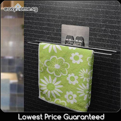 SQ5014 Magic Stick Towel Holder- Toilet Kitchen Hanger Rack Organizer