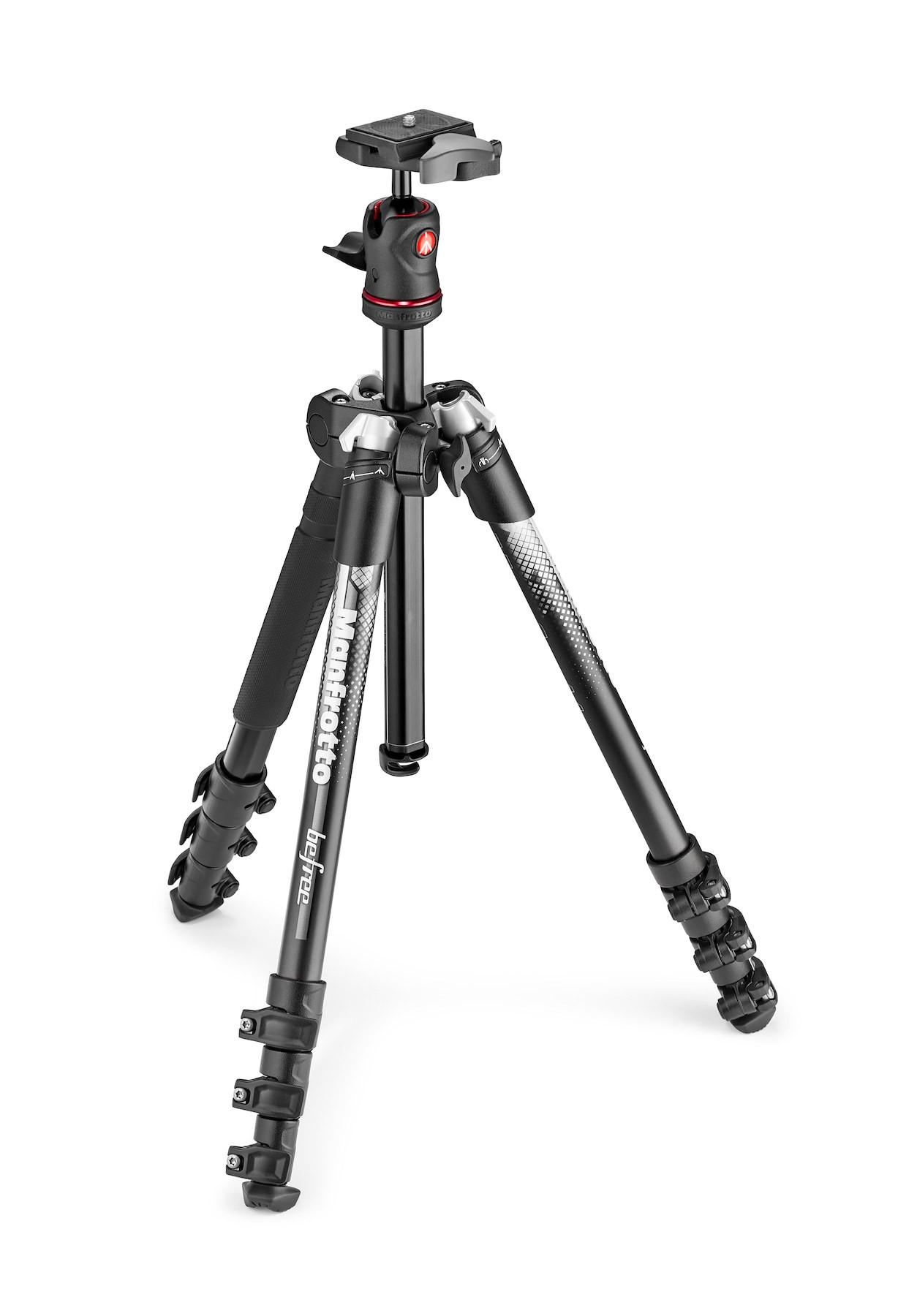 Price Comparisons Manfrotto Befree Color Aluminium Travel Tripod Kit Grey