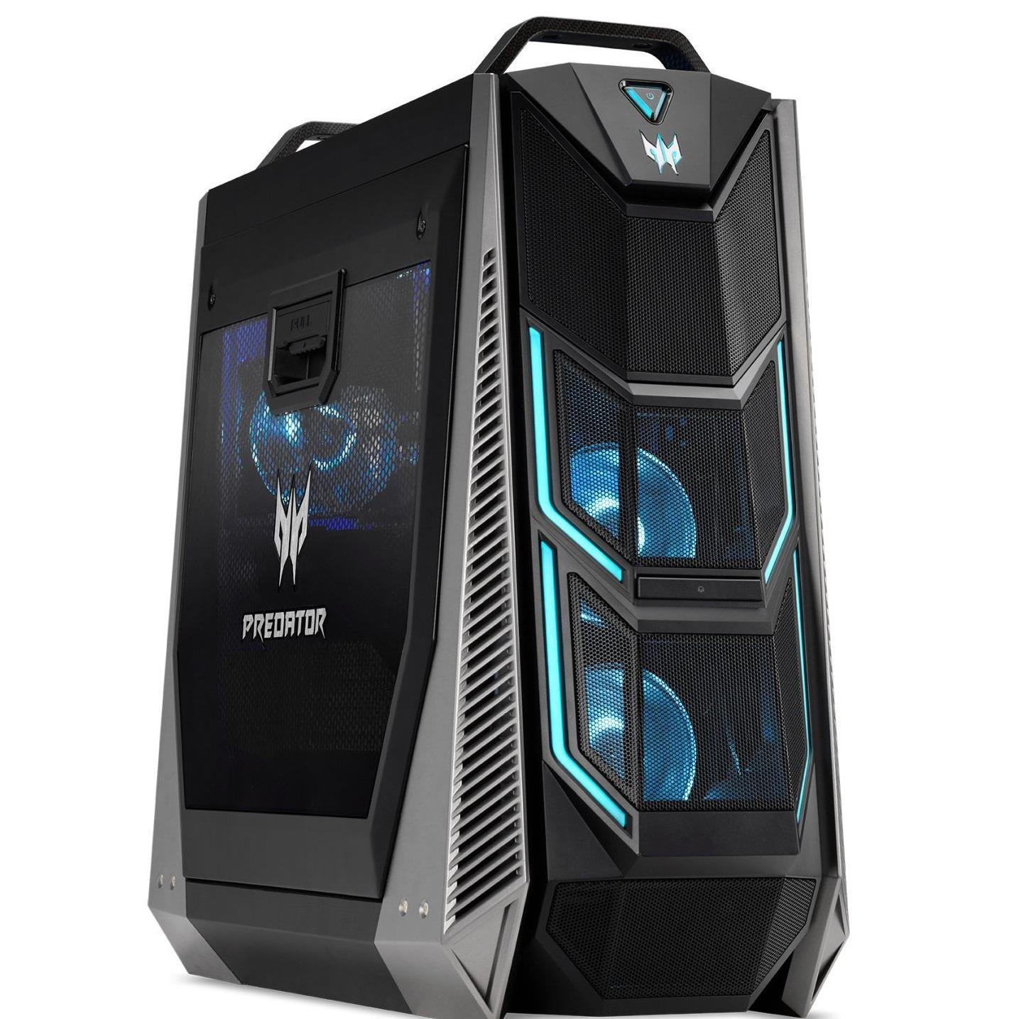 Acer Predator Po9-600 I787mr322t08 I7-8700k 32gb Ddr4 Ram Gaming Desktop (black) By Fepl.