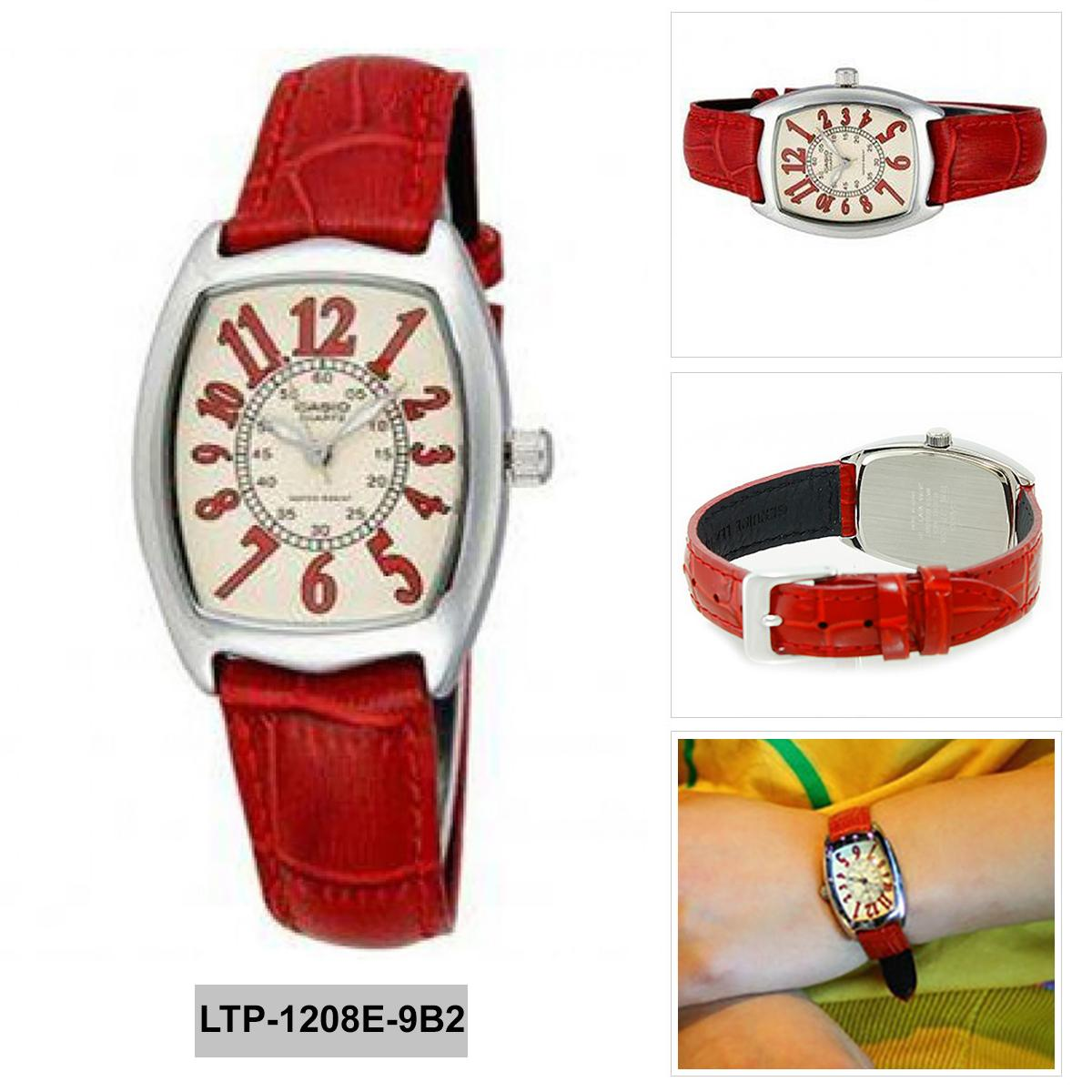 Casio Poptone Womens Black Resin Strap Watch Ldf52 1a Singapore Ldf 52 4a Original Pink Enticer Red Stainless Steel Case Leather Ladies Ltp 1208e 9b2