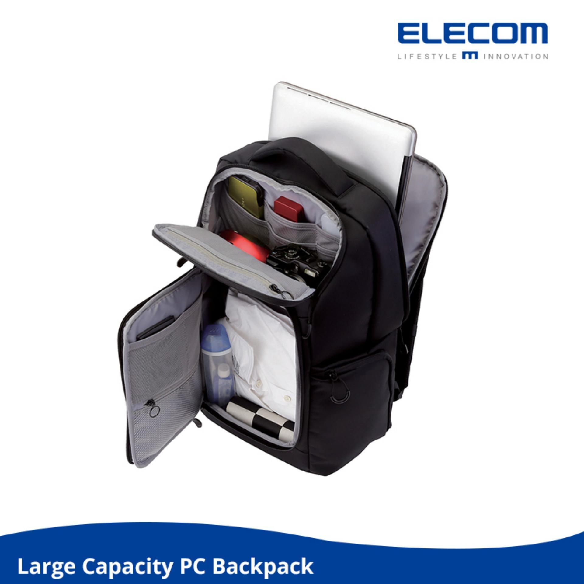 Elecom Bp03 High Grade Large Capacity Travel Laptop Business Backpack On Singapore
