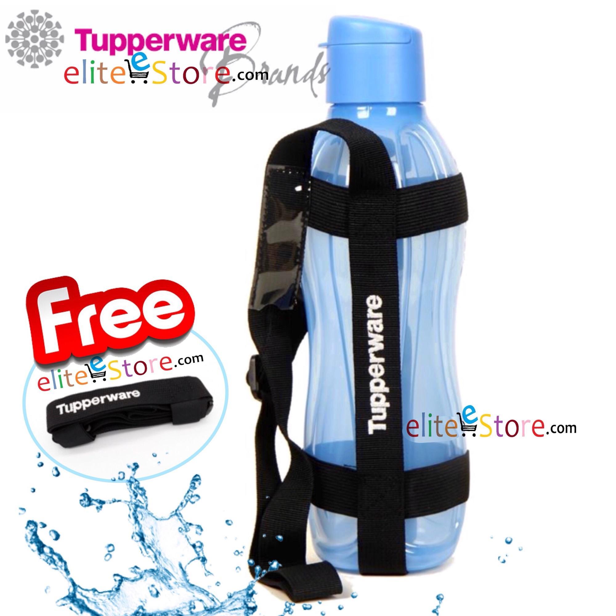 Where Can I Buy Free 1Strap Tupperware Fliptop Bottle 1L Blue