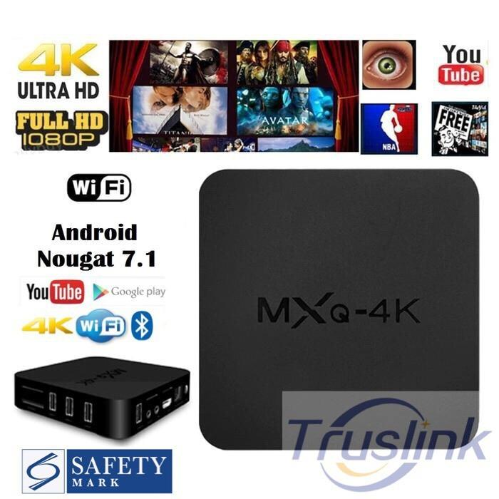 How To Get Mxq 4K Kodi Android 7 1 Smart Tv Box 8Gb Rom H 264 H 265 10Bit Wifi Lan Hdmi Dlna Airplay Miracast