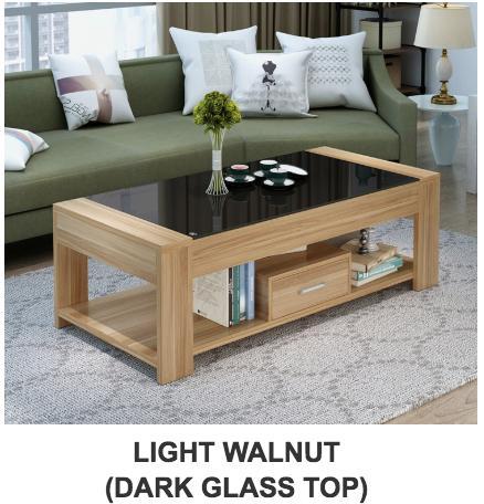 JIJI (Free Installation) Margarita Coffee Table 120x60x40cm (Coffee Table) Living Room Storage Coffee Table/ Furniture/ Free 12 Months Local Warranty (SG)