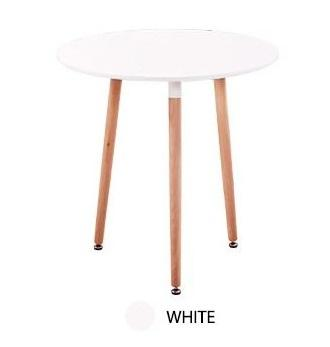 JIJI Eames Round Designer Table - (3 Legged / 4 Legged Design) (Free Installation) - Dining Tables / Furniture / Family Gathering (SG)