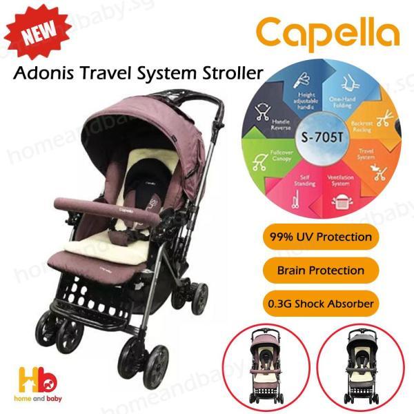 Capella Adonis Travel System Stroller Singapore