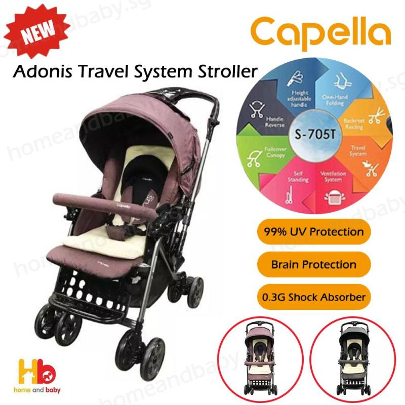 Capella Adonis Travel System Stroller Singapore