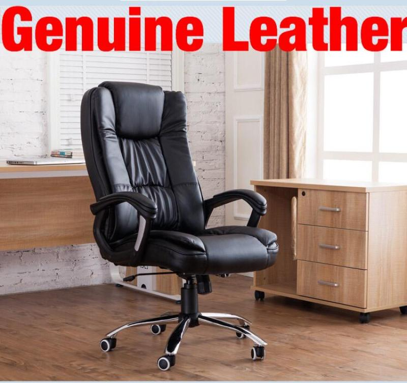 UMD Genuine Leather Boss Chair 338 (Free Installation) Singapore
