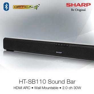 SHARP Sound Bar Home Theatre System HT-SB110