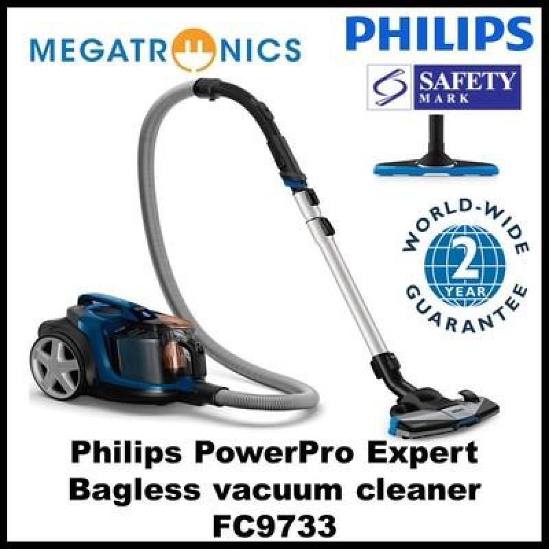 Philips FC9733 PowerPro Expert Bagless vacuum cleaner (2100W) with 2 years warranty vacuum cleaner Singapore