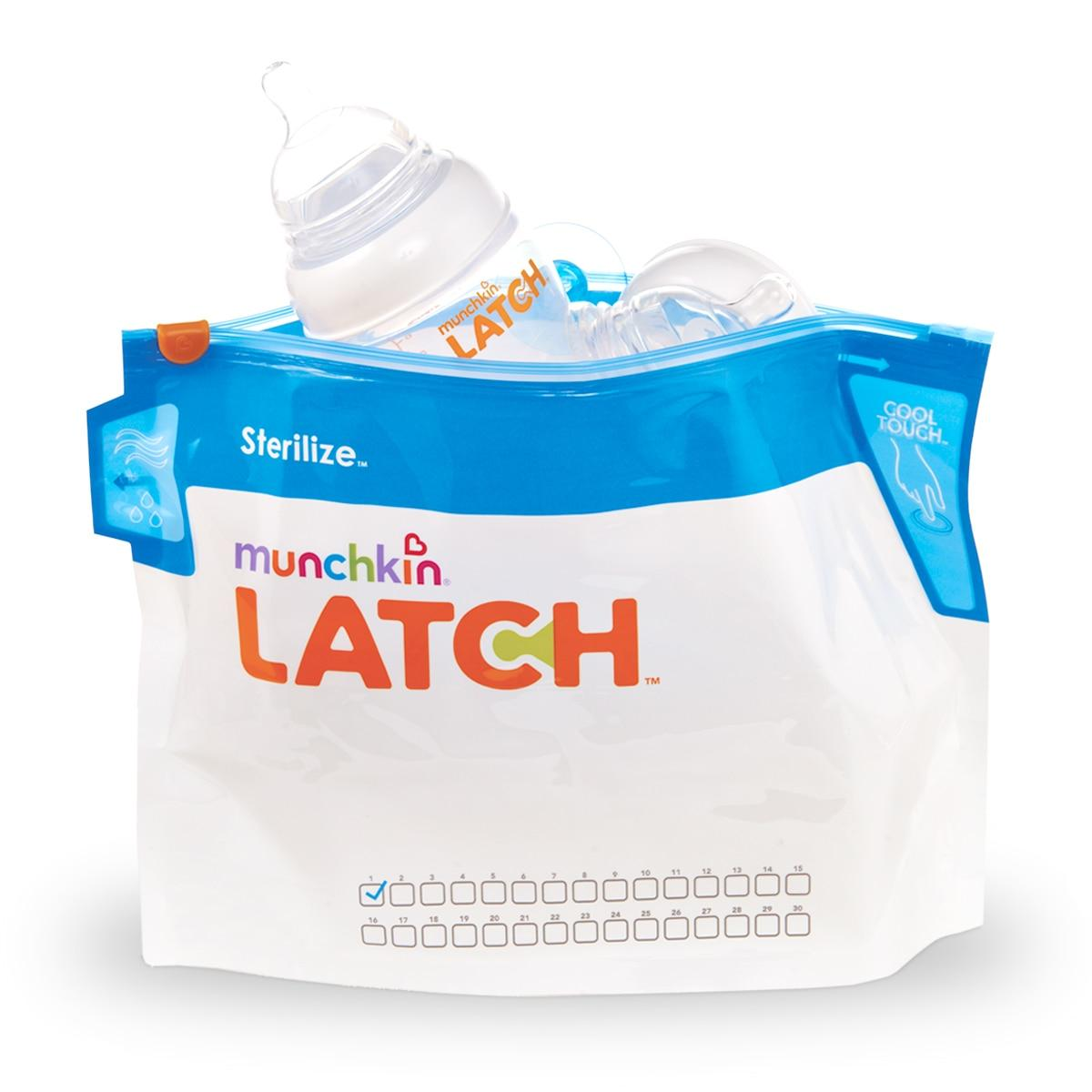 Best Rated Munchkin Latch Sterilizer Bags 6 Pack