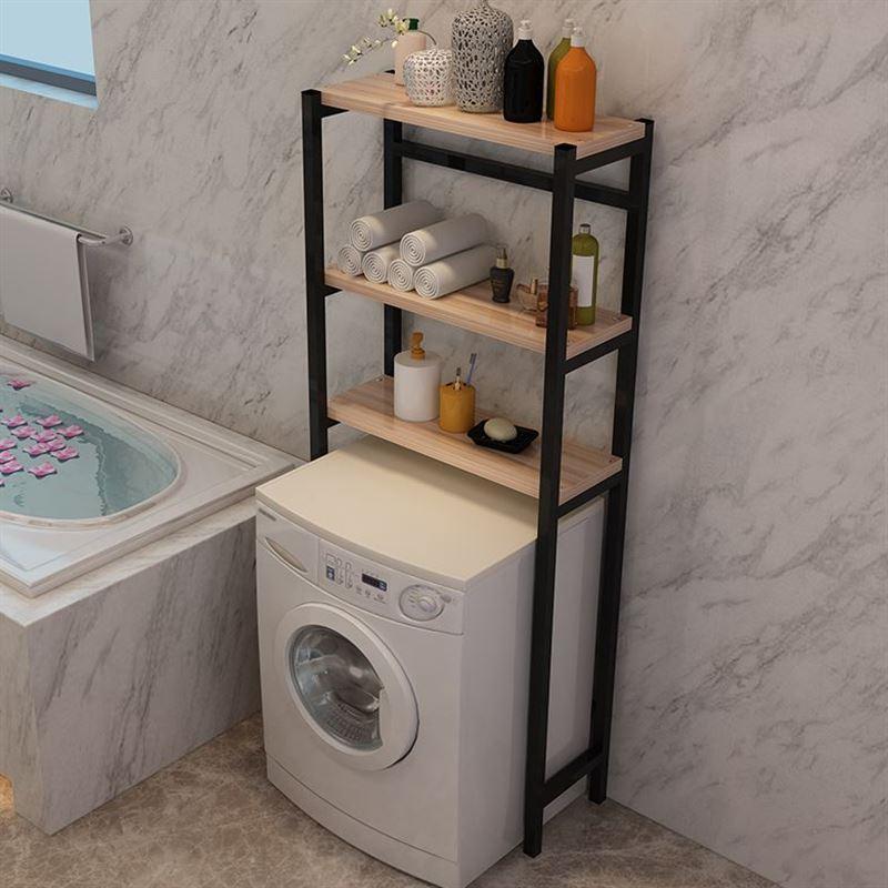 Roller Washing Machine Storage Shelf Landing Impeller Washing Machine Base Shelf Removable Multi-Functional Terrace/patio Storage Rack By Taobao Collection.