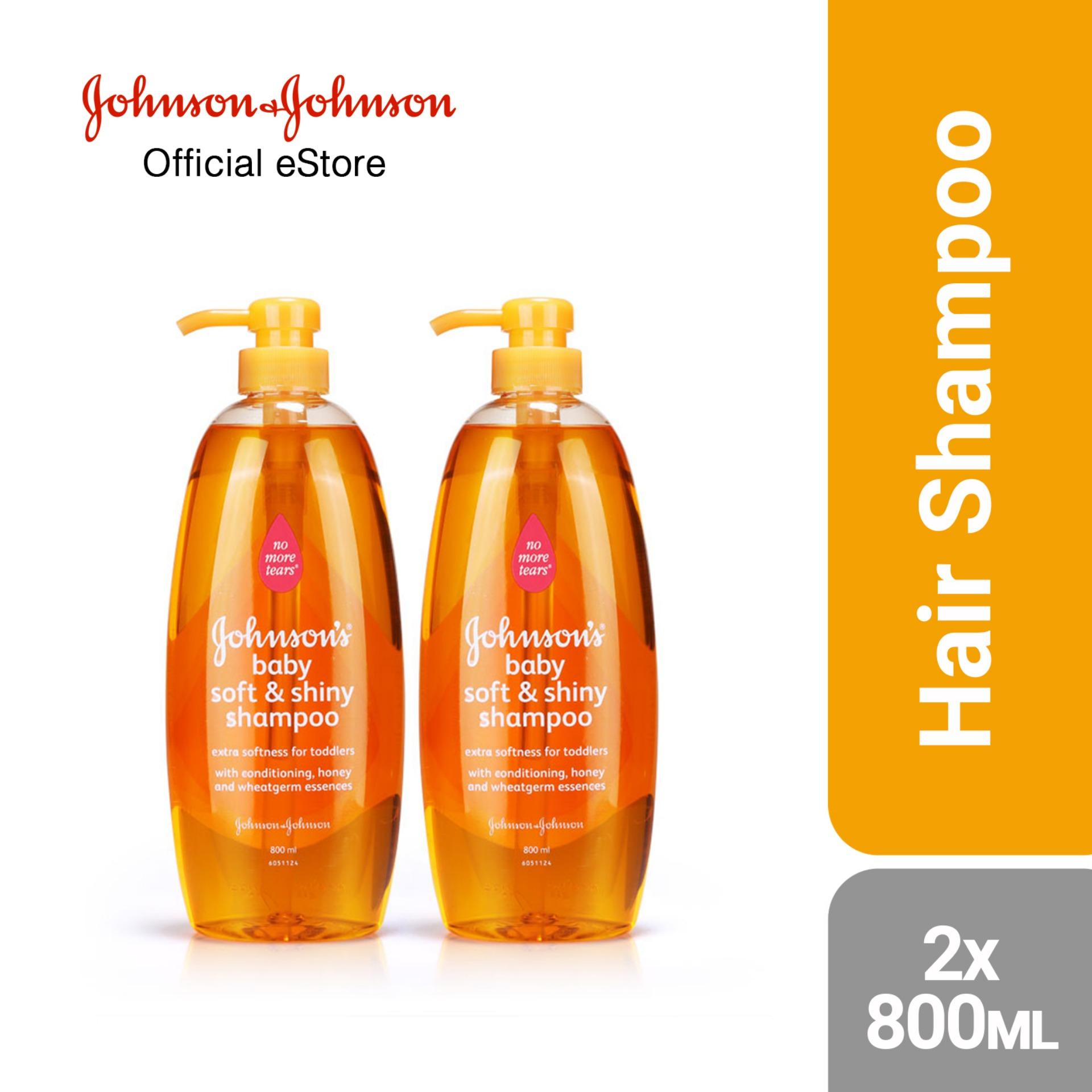 Johnsons Baby Buy At Best Price In Singapore Www Oil 125ml Soft Shiny Shampoo 800ml