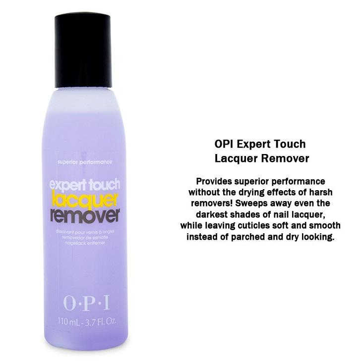 Opi Expert Touch Lacquer Remover 110ml By Johnnybeautyandnails.