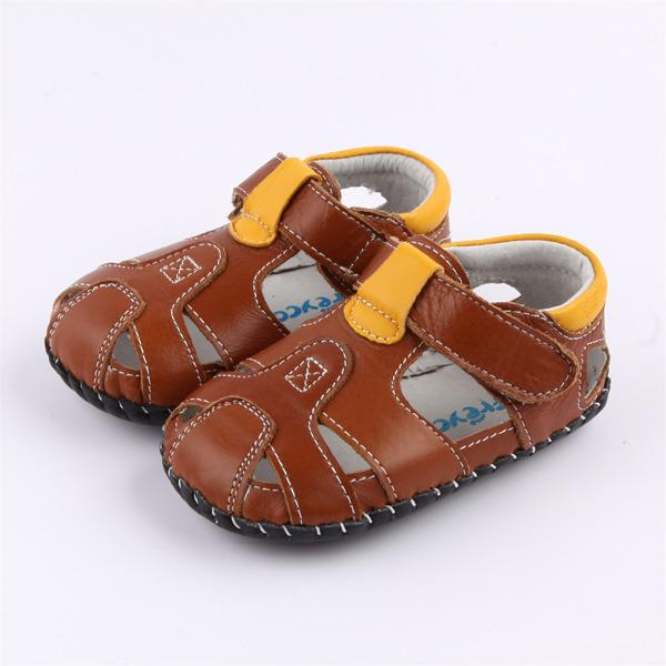 Sale Freycoo Brown Luke Infant Shoes Freycoo