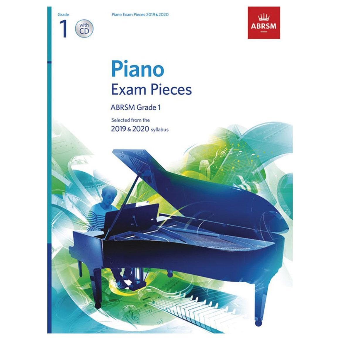 ABRSM Piano Exam Pieces 2019 2020 - Grade 1 (Book and CD)