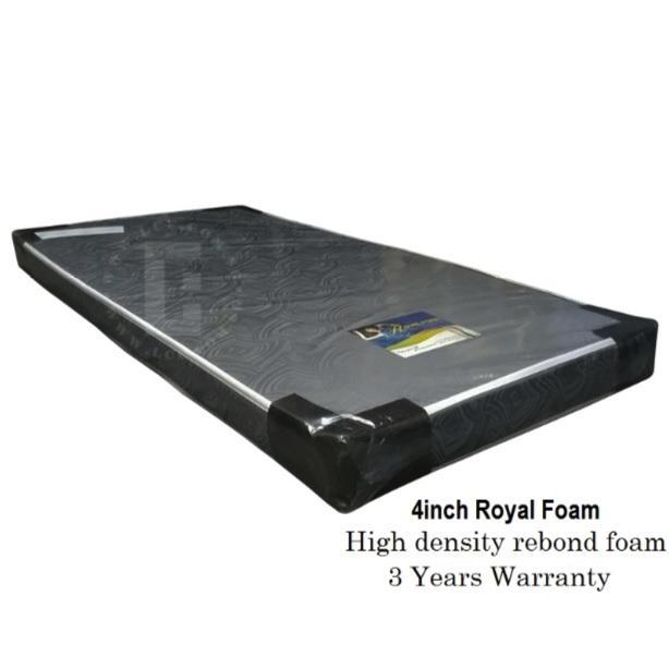 4 inch Royal foam mattress