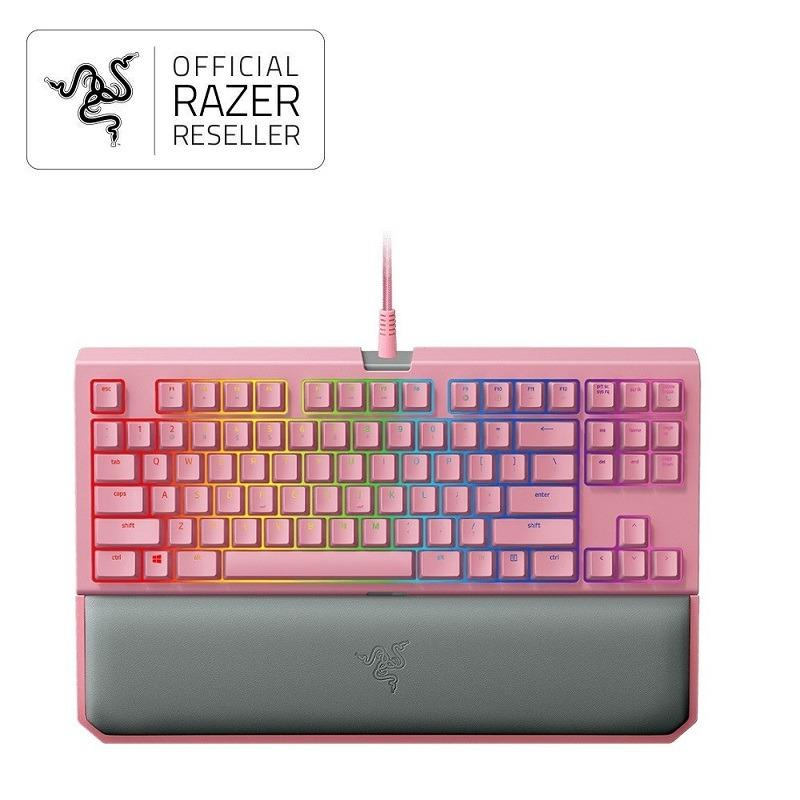 36f0d5f36ba RAZER BLACKWIDOW TE CHROMA V2 QUARTZ EDITION (Green Switch) Singapore