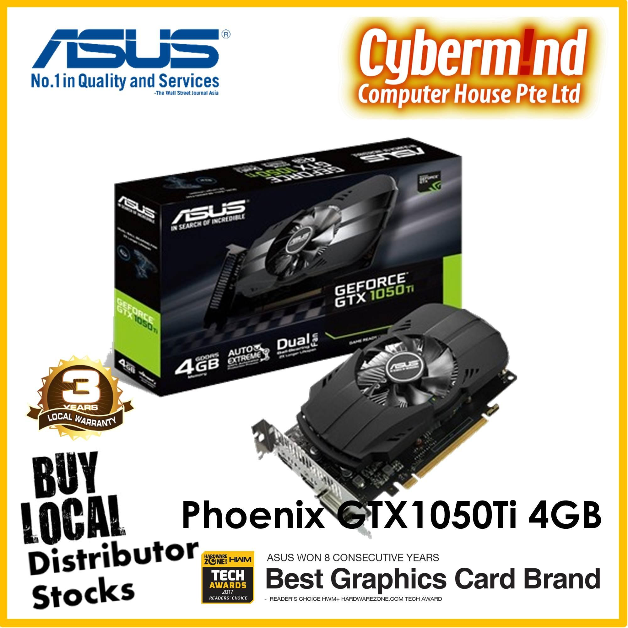 Latest Asus Graphic Cards Products Enjoy Huge Discounts Lazada Sg Geforce Gtx 1080 Ti 11gb Ddr5x Rog Poseidon Phoenix 1050 4gb Gddr5 Graphics Card