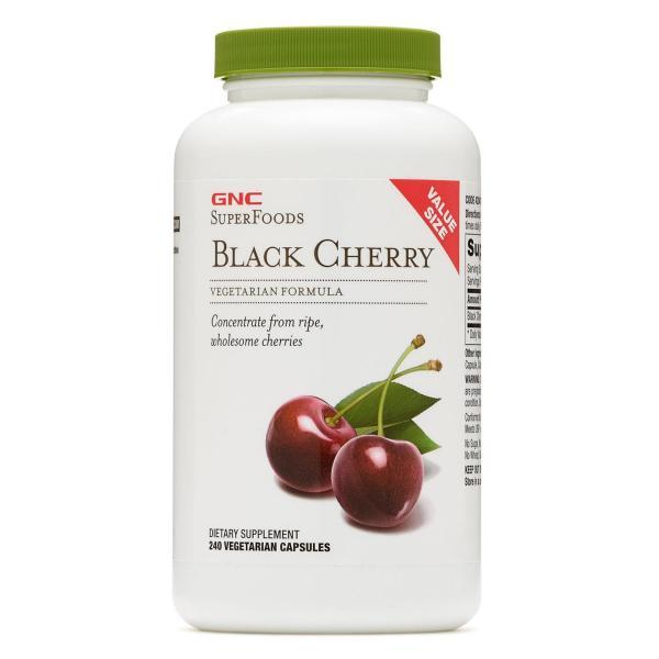 Buy GNC Superfoods Black Cherry - Value Size 240 Capsules Exp2023 Singapore