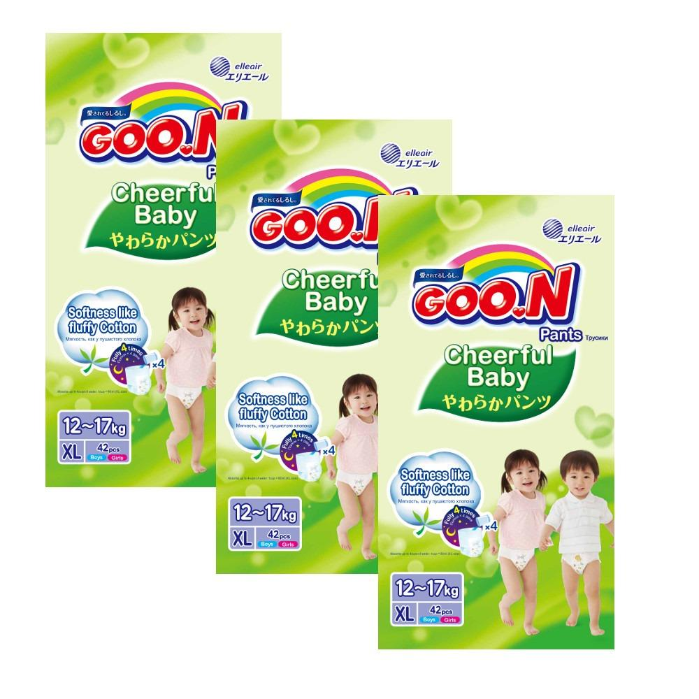 Where To Shop For Goo N Cheerful Baby Pants Xl42 X 3 Packs