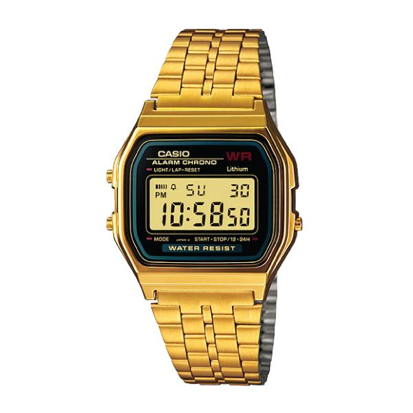 Casio Standard Digital Gold Stainless Steel Band Watch A159Wgea 1D Lower Price