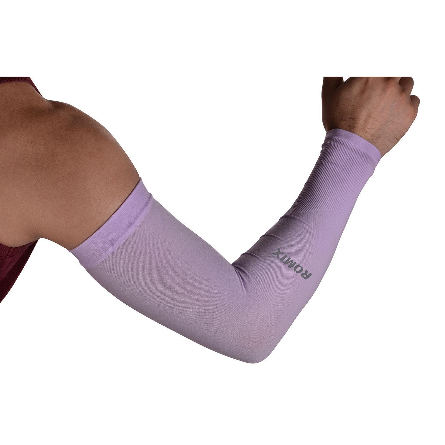184134b8c6 niceEshop 1 Pair Silk UV-Protection Unisex Cooling Arm Sleeves For Outdoor  Sports (Driving