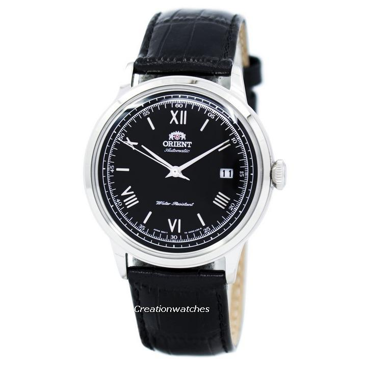 Best Deal Orient 2Nd Generation Bambino Version 3 Classic Automatic Men S Black Leather Strap Watch Fac0000Ab0