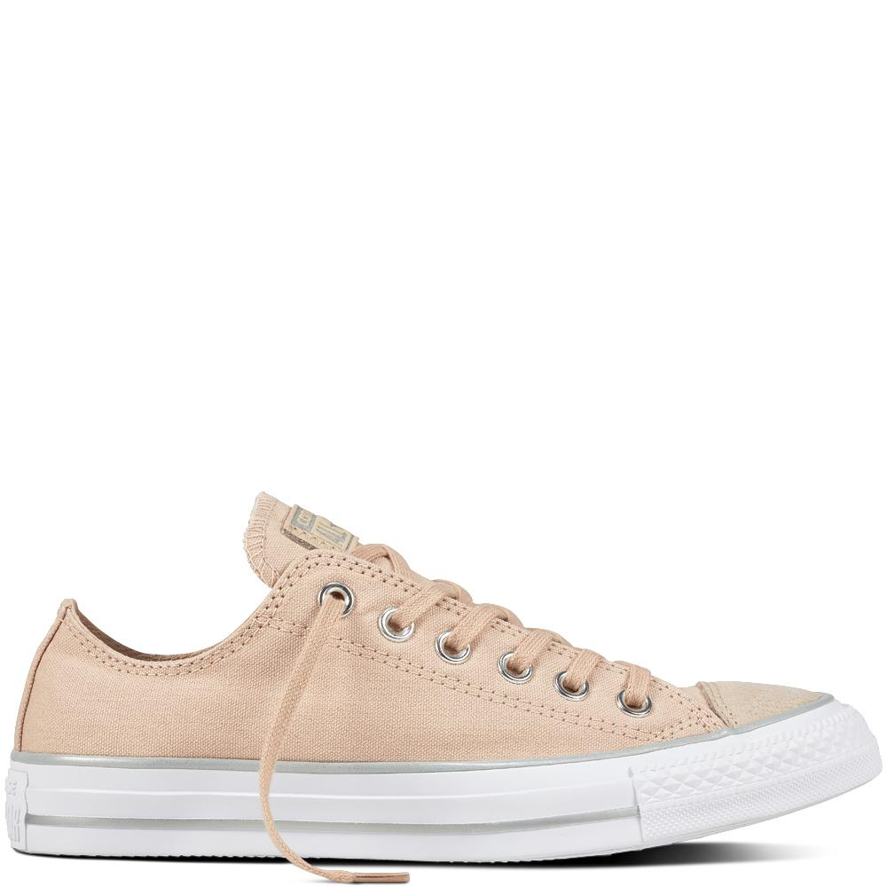 2705531dd24  SALE  CONVERSE CHUCK TAYLOR ALL STAR - OX - PARTICLE BEIGE SILVER