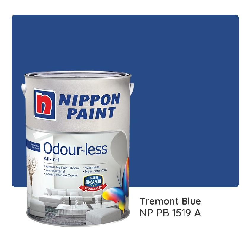 Nippon Paint Odour-less All-in-1 NP PB 1519 A 1L