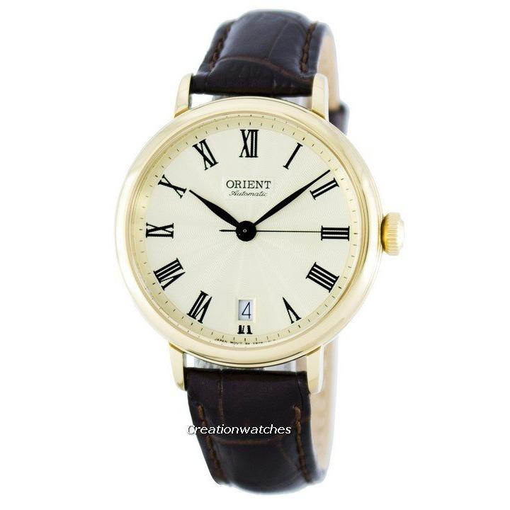 Top 10 Orient Soma Automatic Power Reserve Men S Brown Leather Strap Watch Fer2K003C0