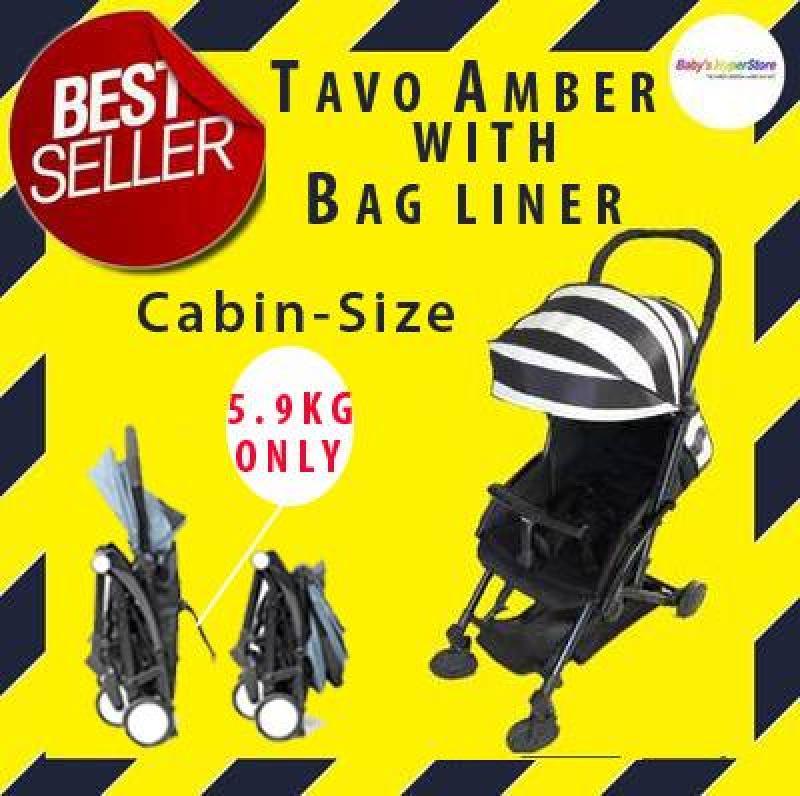 Tavo Amber CABIN SIZE Stroller + Free Gifts★LIGHTWEIGHT Stroller5.9kg★Newbornto18kg Singapore