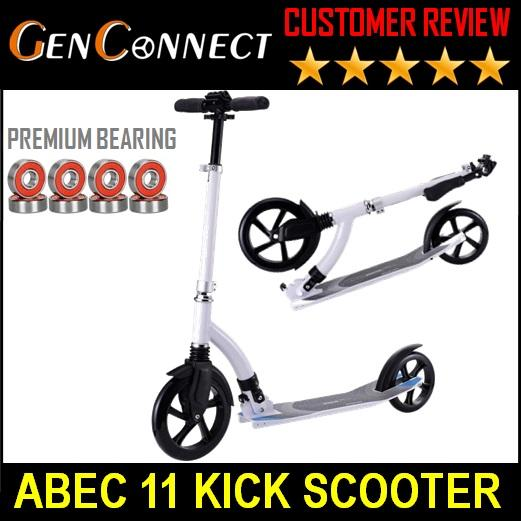 Scooter Foldable Kick Scooter For Kids And Adult Abec 11 By Genconnect.