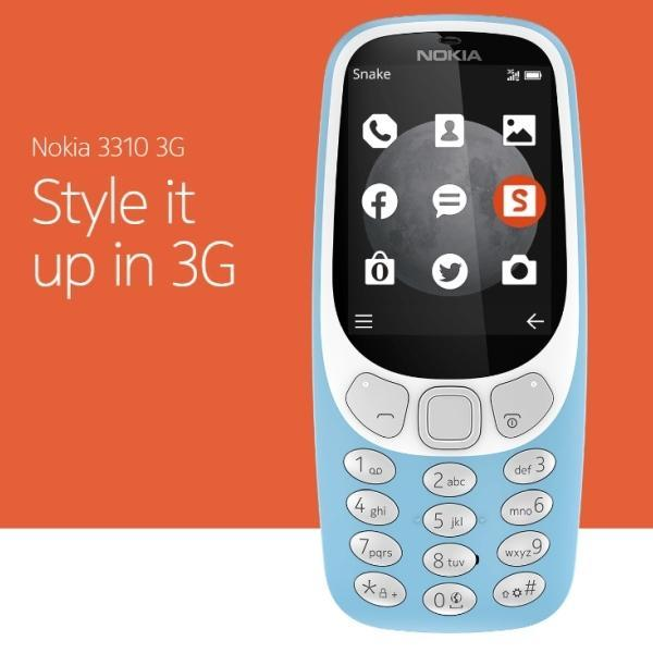 Buy Nokia 3310 16Mb Ram Grey 2017 Latest Edition 3G On Singapore