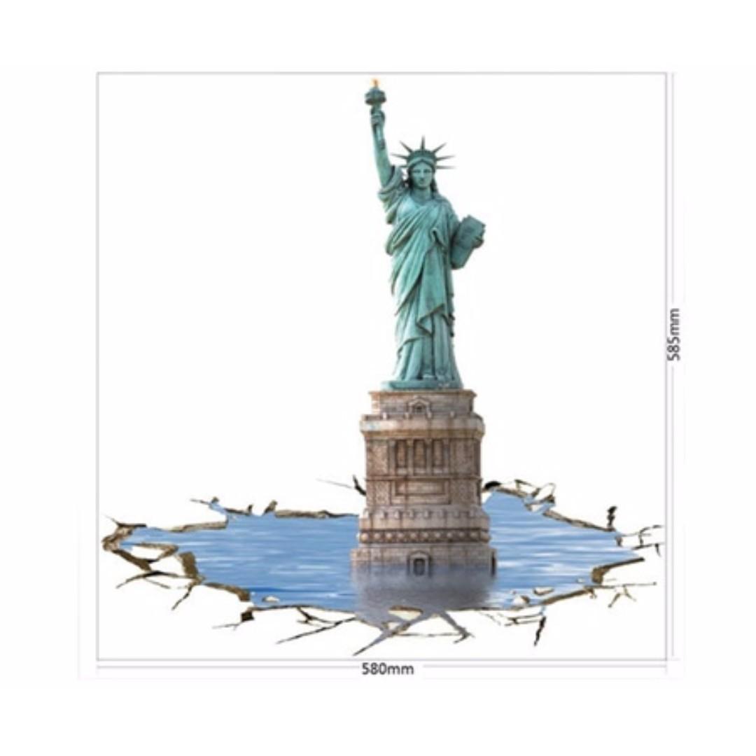 Statue of Liberty 3D Wall Paper x 2 units