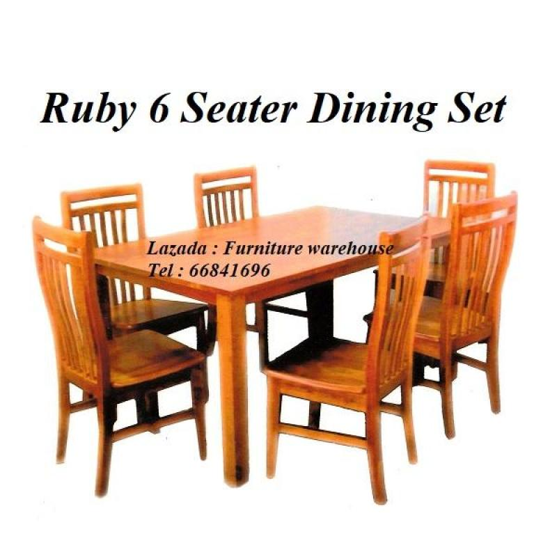 Ruby 6 Seater Dining Set
