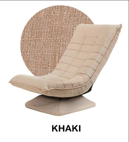 1982cf896bba JIJI Titanium Rotational Lazy Sofa (80x56x57CM) (Floor Chair) Recliner  Floor chair/
