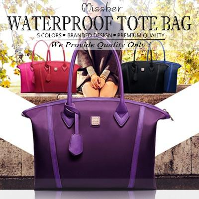 MISSHER【Super Premium Quality Bag Sale】★waterproof tote bag sling bag pouch etc nylon bag LB-CC14