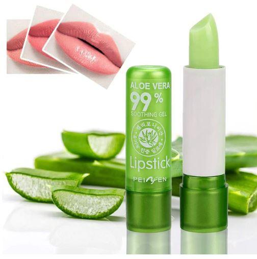 Aloe Vera Lipstick Color Mood Changing Long Lasting Moisturizing Lipstick By Faltech Singapore.