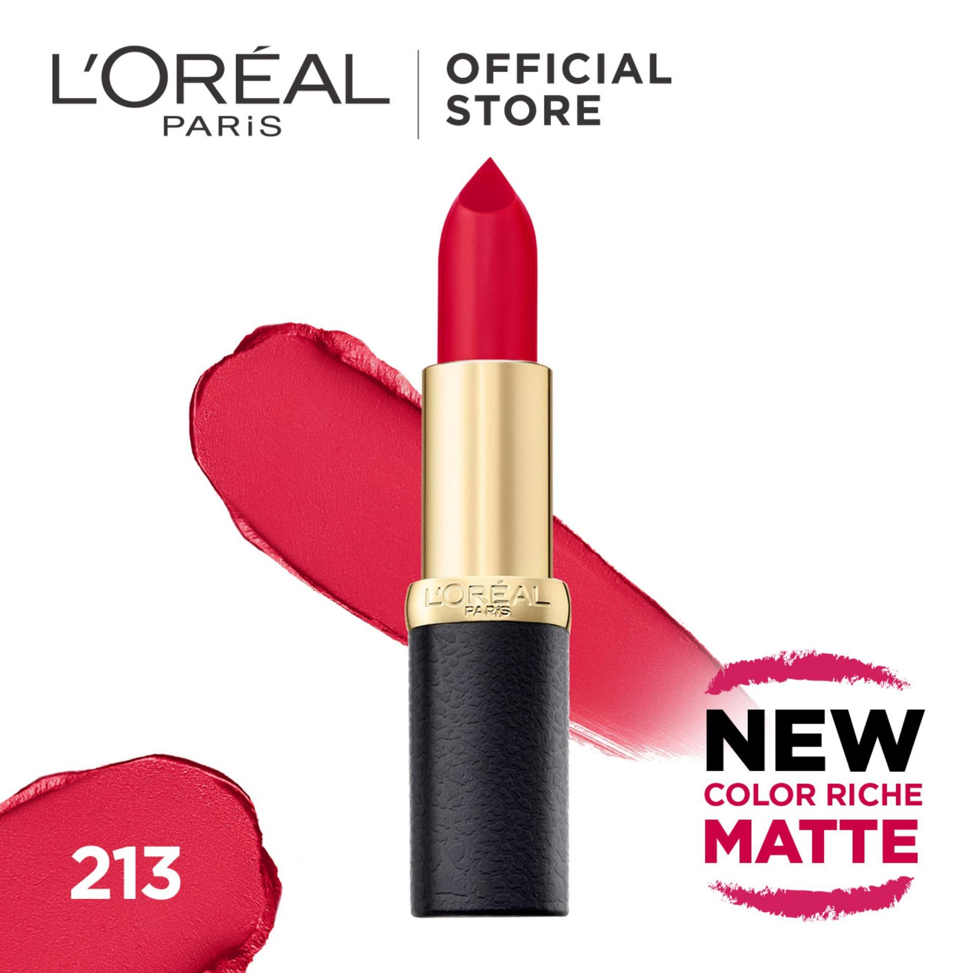 Loreal Paris Color Riche Matte Lipsticks By Loreal Paris.