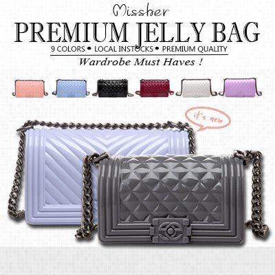 MISSHER AUTHENTIC QUALITY Korean Limited Edition Jelly Bag