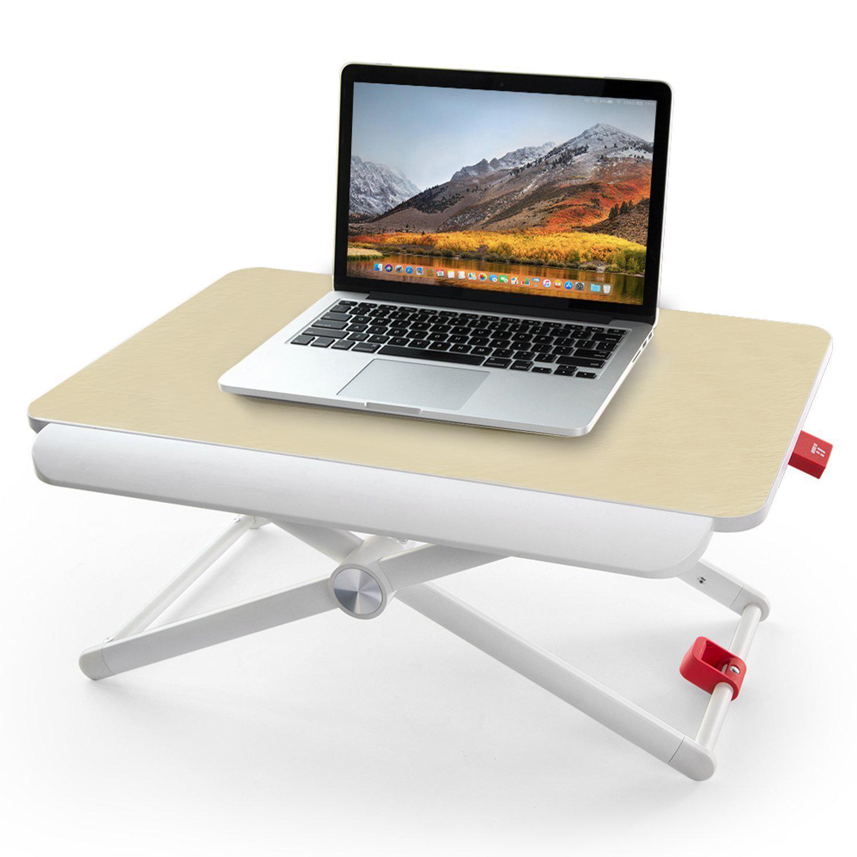 Standing Desk Converter, Height Adjustable Computer Desk Portable Riser Sit to Stand Elevating Laptop Desk Stand up Workstation Table - intl