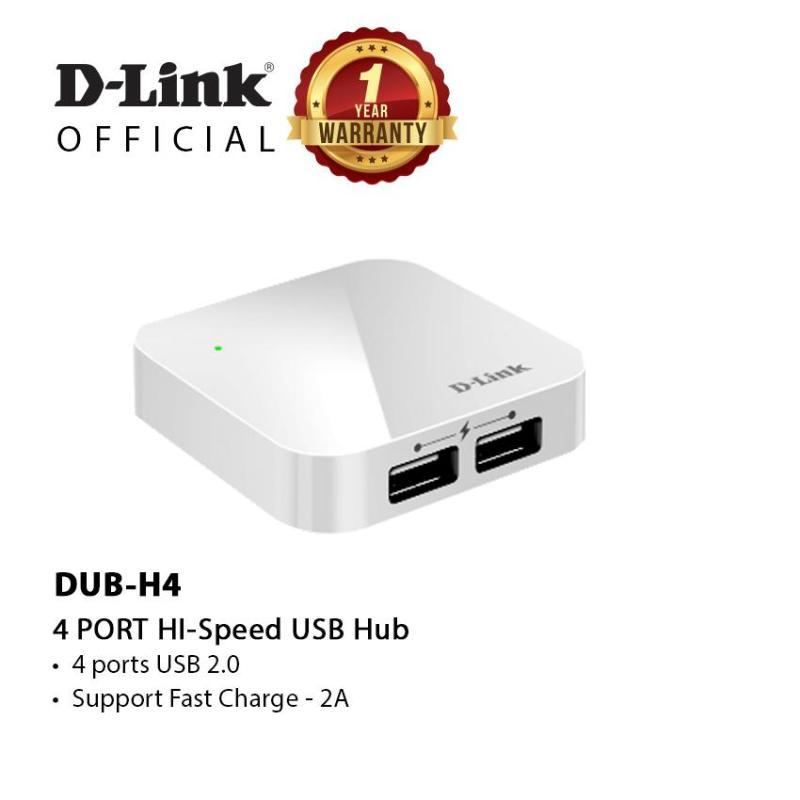 D-Link DUB-H4 4-Port HI-Spees Usb Hub