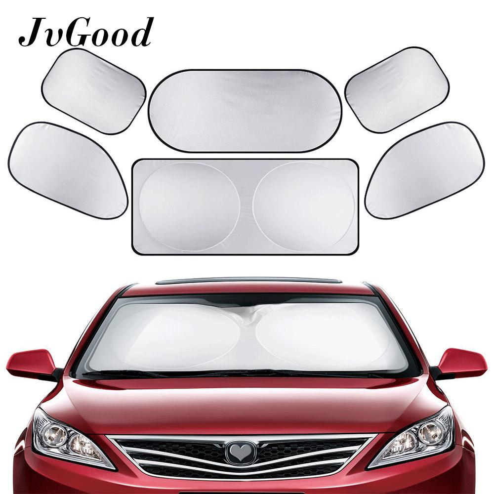 Jvgood Full Car Sun Shade Folding Silvering Reflective Car Window Sun Shade Visor Shield Cover For All Kinds Of Car Suv And Trucks By Jvgood.