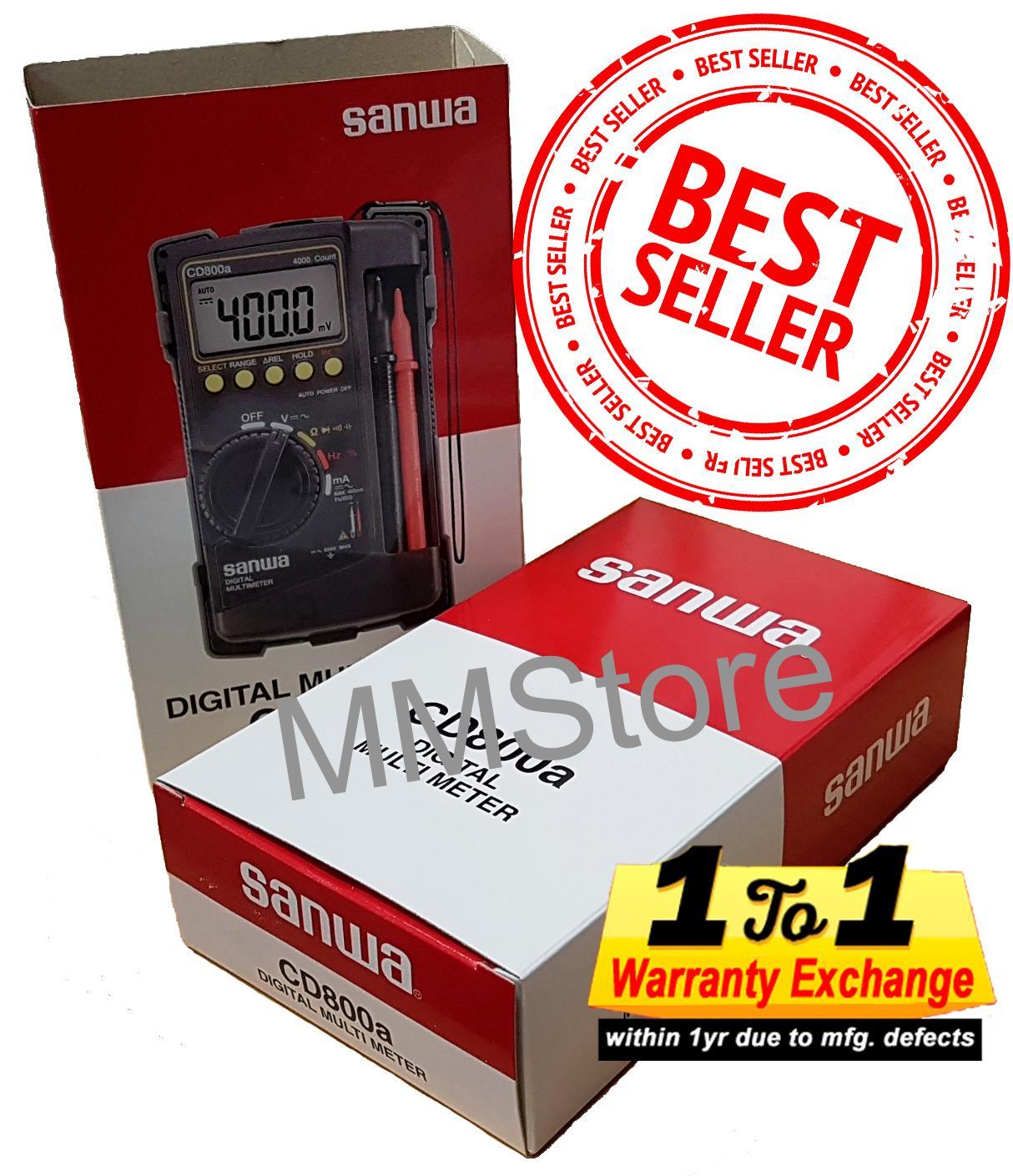 Latest Sanwa Digital Multimeter Cd800A