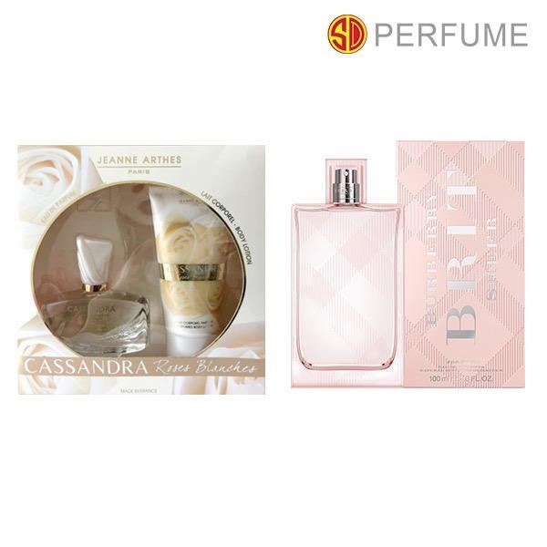 Jeanne Arthes Cassandra Rose Blenches Gift Set Burberry Brit Sheer Edp Lady 100Ml Lowest Price